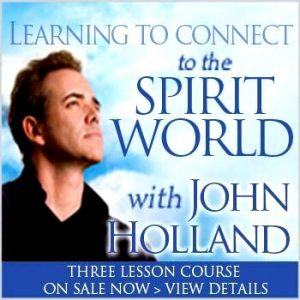 Learning to connect to the spirit world - Holland