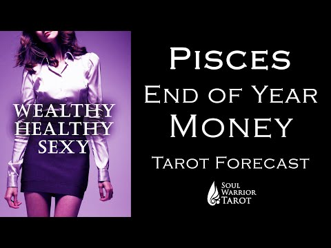 💲PISCES MONEY READING END OF 2020 FORECAST 💲 FINALE 💲 October - Dec 2020 Soul Warrior Tarot