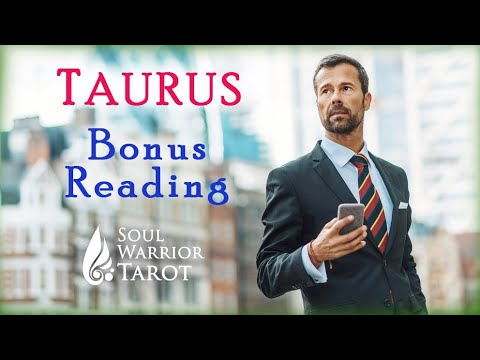 💲💰TAURUS Bonus 2020 Money Reading Tarot Forecast #SoulWarriorTarot