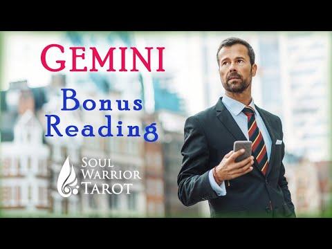 💰😇GEMINI Bonus 2020 Money Reading Tarot Forecast #SoulWarriorTarot