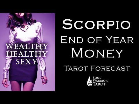 💲SCORPIO BREAKTHROUGH TO ABUNDANCE MONEY READING END OF 2020 FORECAST 💲 October - Dec 2020