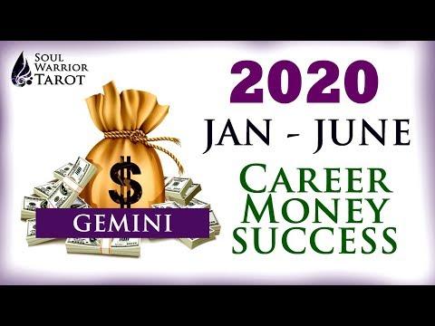 Gemini 2020 Money Career Reading Jan to June
