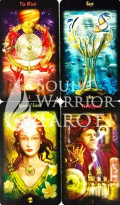 Legacy-of-Divine-Tarot with Soul Warrior Tarot