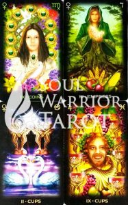 Tarot-of-Dreams with Soul Warrior Tarot